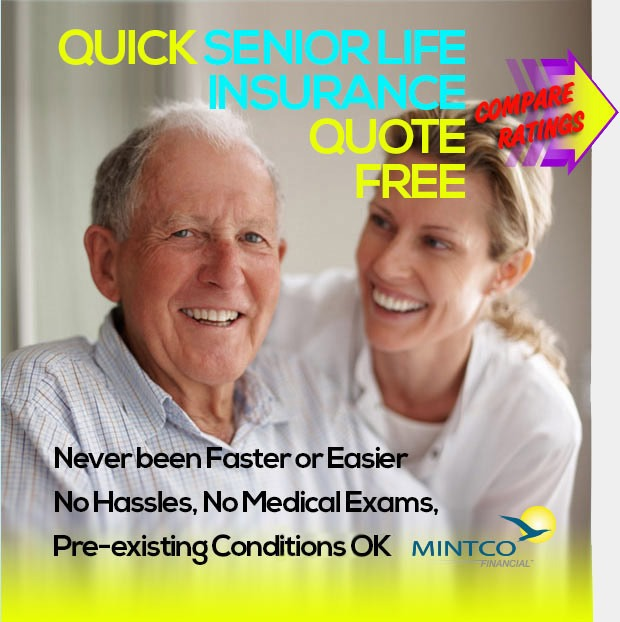 Senior Life Insurance Quote Endearing Compare Life Insurance Rates For Seniors  Mintco Financial